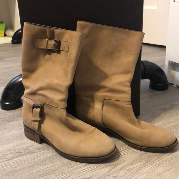 Cole Haan Shoes | Leather Short Boots